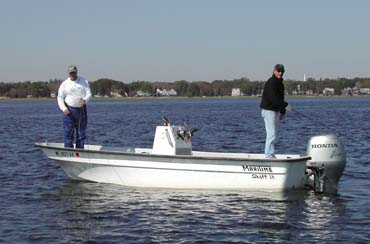 18' Maritime Fly Fisher Skiff